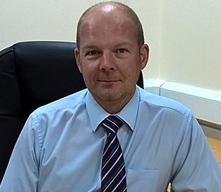 Arden University student Andrew Kellaway